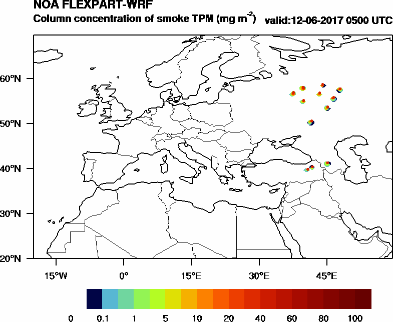 Column concentration of smoke TPM - 2017-06-12 05:00